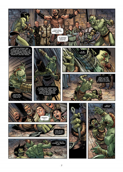 Page 7 Orcs & gobelins tome 8
