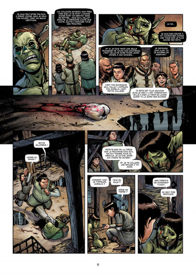 Page 8 Orcs & gobelins tome 8