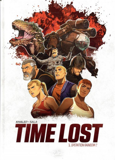 Couverture Time lost tome 1