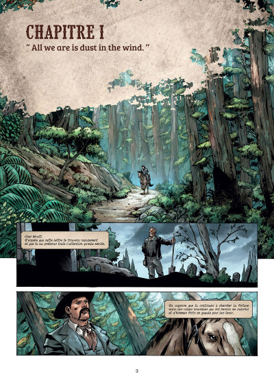 Page 1 West legends tome 1