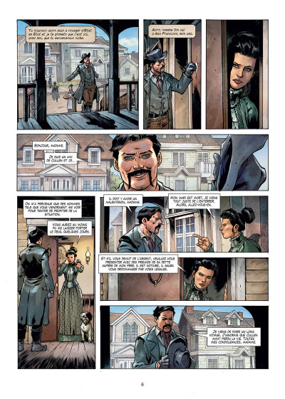 Page 4 West legends tome 1
