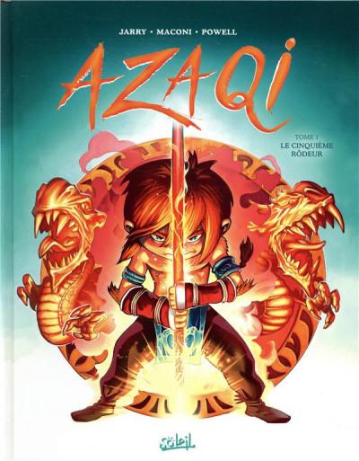 Couverture Azaqi tome 1