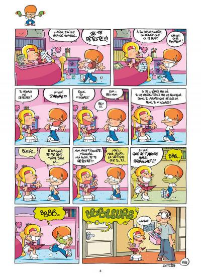 Page 4 Les p'tits diables tome 28