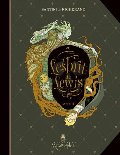 Couverture L'esprit de Lewis tome 2 + ex-libris offert