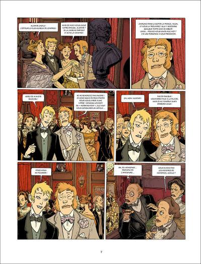 Page 7 L'esprit de Lewis tome 2 + ex-libris offert