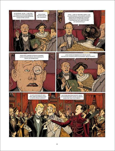 Page 8 L'esprit de Lewis tome 2 + ex-libris offert
