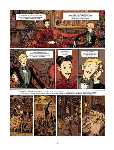 Page 9 L'esprit de Lewis tome 2 + ex-libris offert
