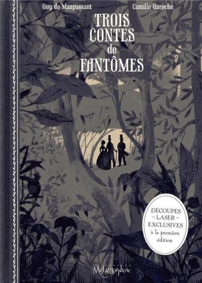 Couverture Trois contes de fantômes