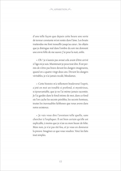 Page 1 Trois contes de fantômes