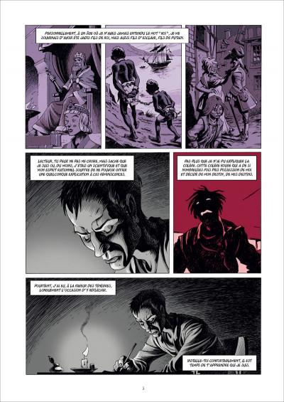 Page 3 Le vagabond des étoiles tome 1