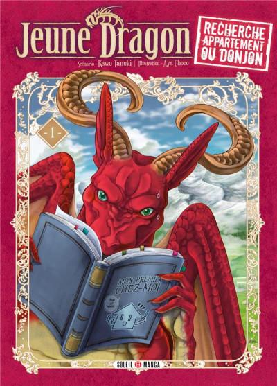 Couverture Jeune dragon recherche appartement ou donjon tome 1