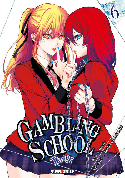Couverture Gambling school twin tome 6