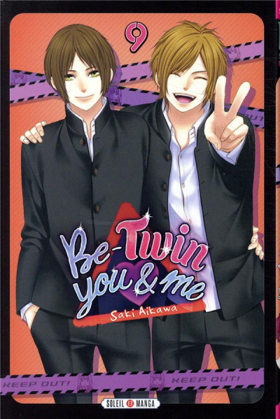 Couverture Be-twin you & me tome 9