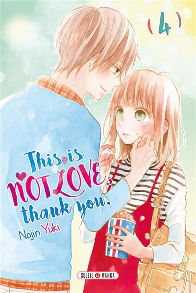 Couverture This is not love, thank you tome 4