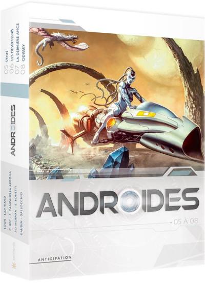 Couverture Androïdes - coffret tomes 5 à 8