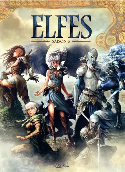 Couverture Elfes - coffret tomes 21 à 25