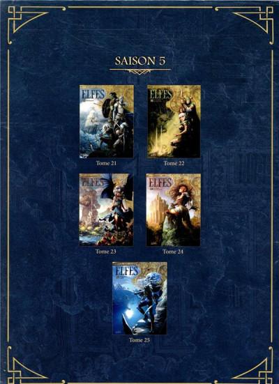 Dos Elfes - coffret tomes 21 à 25