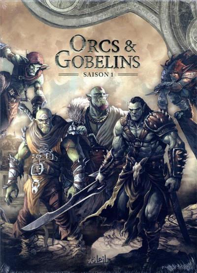 Couverture Orcs & gobelins - coffret tomes 1 à 5