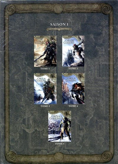 Dos Orcs & gobelins - coffret tomes 1 à 5