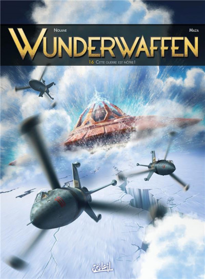 Couverture Wunderwaffen tome 16