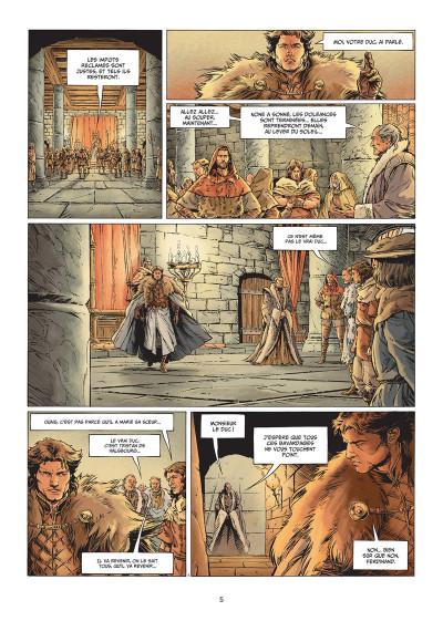 Page 3 Légende tome 7 + ex-libris offert