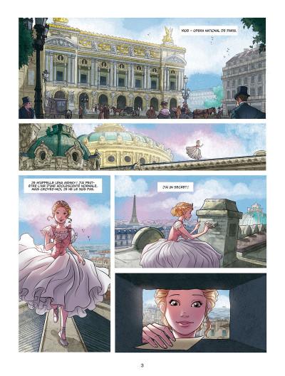 Page 1 Léna, rêve d'étoile tome 1