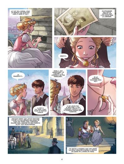 Page 2 Léna, rêve d'étoile tome 1