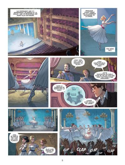 Page 3 Léna, rêve d'étoile tome 1