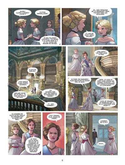 Page 4 Léna, rêve d'étoile tome 1