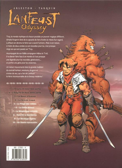 Dos Lanfeust odyssey - intégrale tomes 1 à 4