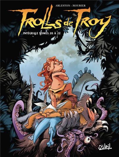 Couverture Trolls de troy - intégrale tomes 20 à 22