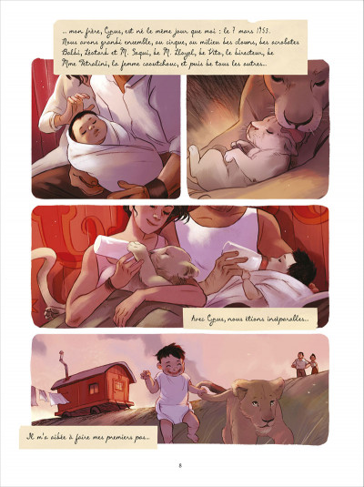 Page 4 Lulu & Nelson tome 1