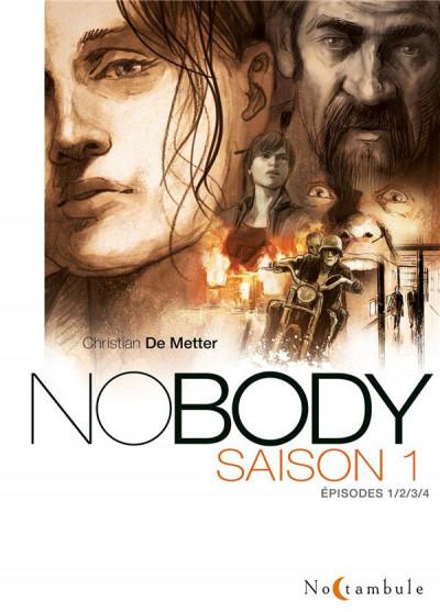 Couverture Nobody - intégrale saison 1