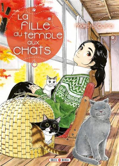 Couverture La fille du temple aux chats tome 6