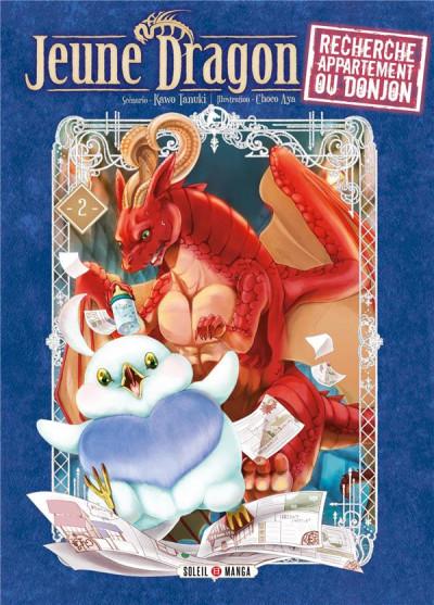 Couverture Jeune dragon recherche appartement ou donjon tome 2