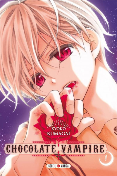 Couverture Chocolate vampire tome 1