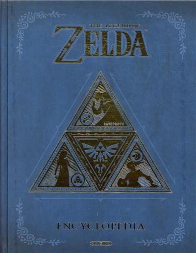 Couverture The legend of zelda - Encyclopedia