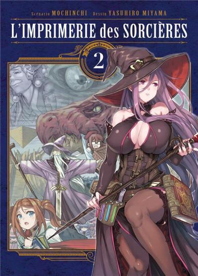 Couverture L'imprimerie des sorcières tome 2