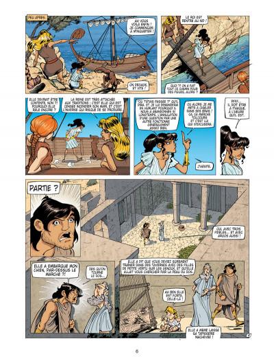 Page 4 L'odyssée de Pénélope tome 1