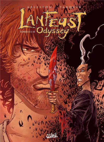 Couverture Lanfeust odyssey - coffret tomes 8 à 10