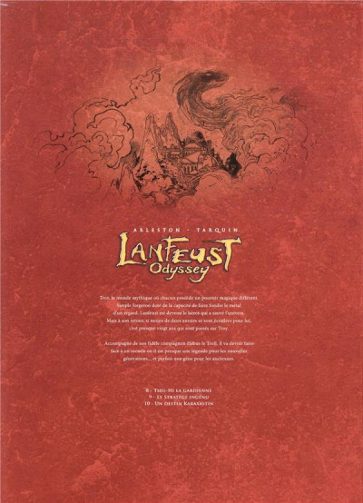 Dos Lanfeust odyssey - coffret tomes 8 à 10