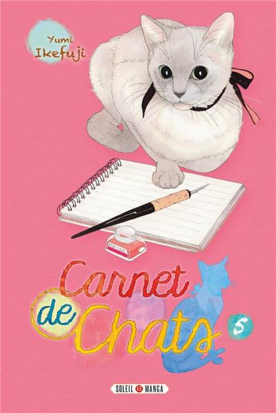 Couverture Carnet de chats tome 5