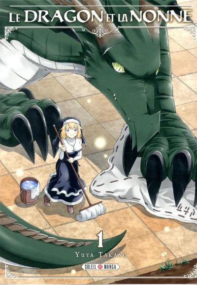 Couverture Le dragon et la nonne tome 1