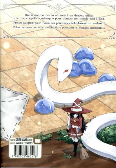 Dos Le dragon et la nonne tome 1