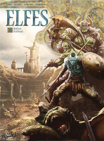 Couverture Elfes tome 26