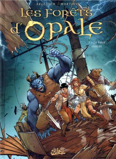 Couverture Les forêts d'Opale tome 11 + ex-libris offert