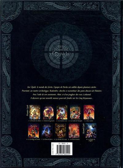 Dos Les forêts d'Opale tome 11 + ex-libris offert