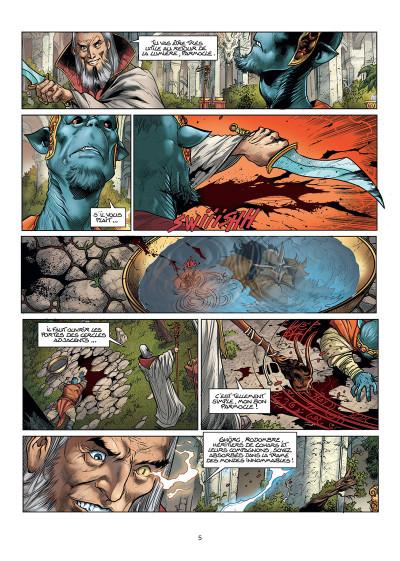 Page 3 Les forêts d'Opale tome 11 + ex-libris offert