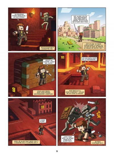Page 5 Frigiel et Fluffy - La BD dont tu es le héros