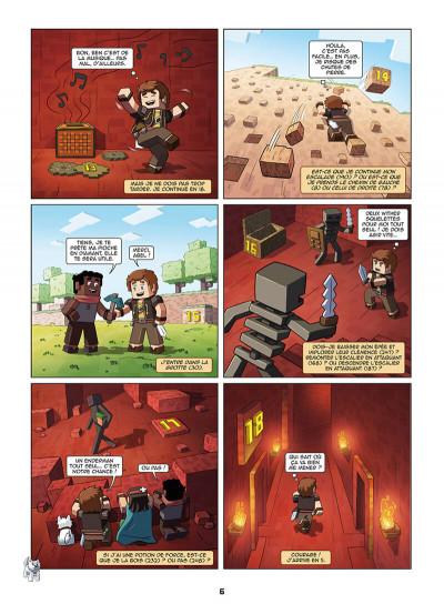Page 6 Frigiel et Fluffy - La BD dont tu es le héros